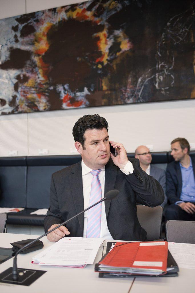 Im SPD-Fraktionssaal, Foto: Nanna Heitmann
