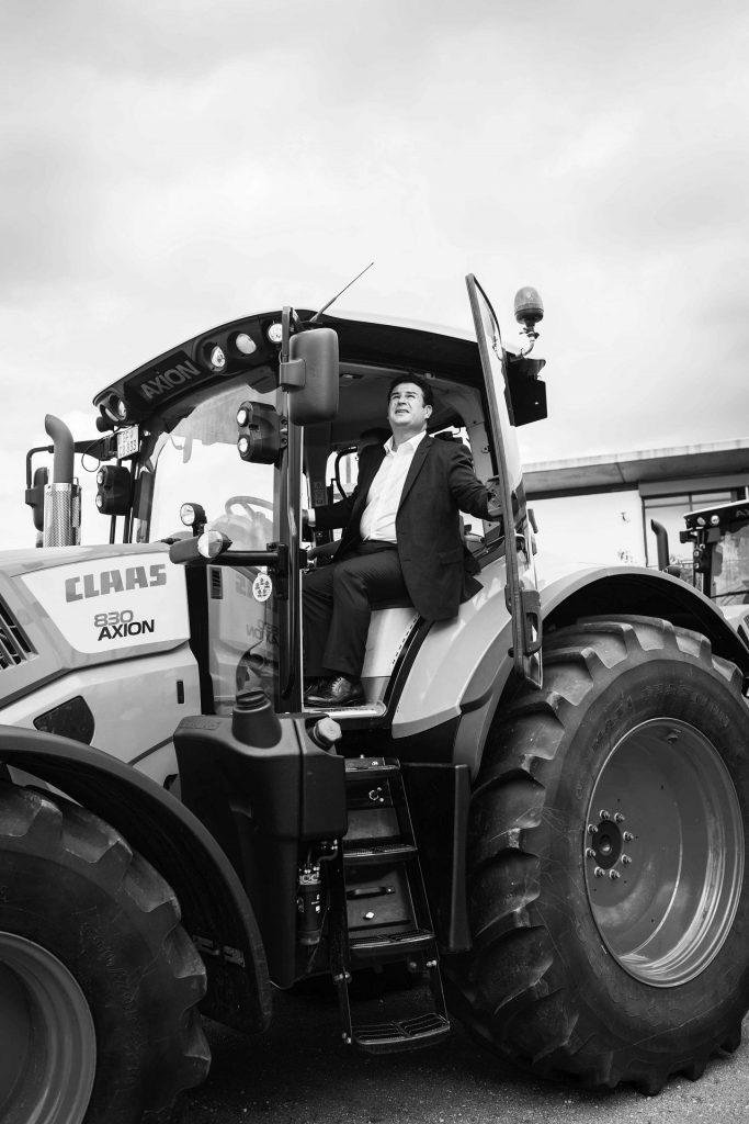 Besuch bei Claas Traktoren, Foto: Nanna Heitmann