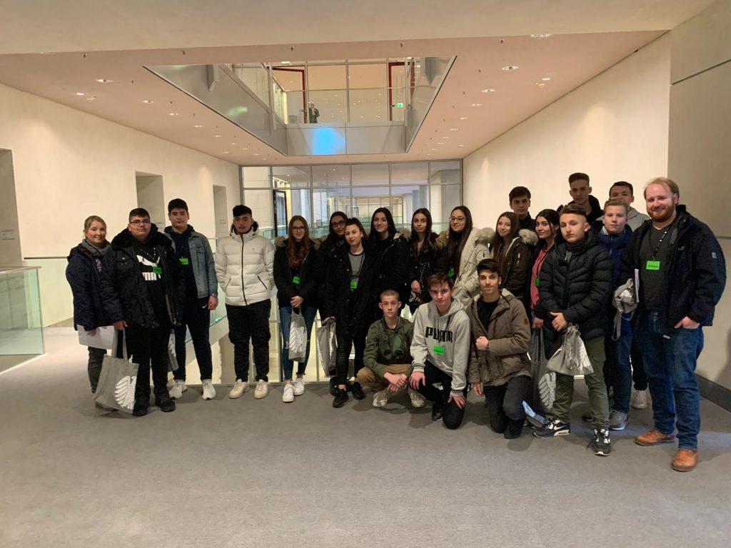 Besuch der Gunzelin Realschule